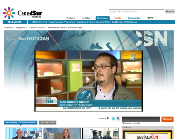 Canal Sur noticias_Jam